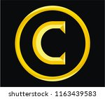 roman numerical number 100 type ... | Shutterstock .eps vector #1163439583