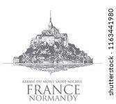 Mont Saint Michel  Normandy....