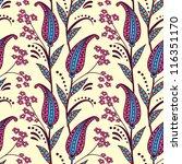 seamless paisley pattern | Shutterstock .eps vector #116351170