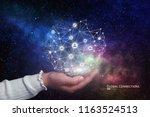 innovative technology. future...   Shutterstock . vector #1163524513