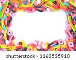 Frame Of Assorted Gummy Candie...