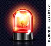 siren light vector illustration ...   Shutterstock .eps vector #1163558989