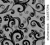 lace floral background.... | Shutterstock .eps vector #116357296