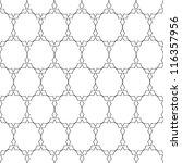 delicate pattern in arabian... | Shutterstock .eps vector #116357956