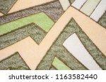 abstract colored fleece... | Shutterstock . vector #1163582440