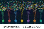 vector abstract colorful big... | Shutterstock .eps vector #1163592730
