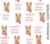 cute seamless card vector... | Shutterstock .eps vector #116359648