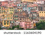 small italian village | Shutterstock . vector #1163604190