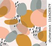trendy seamless pattern of... | Shutterstock .eps vector #1163620879