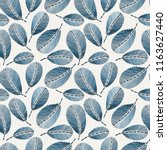 embroidery floral seamless... | Shutterstock .eps vector #1163627440