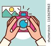 graphic design concept | Shutterstock .eps vector #1163639863