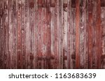 old wooden timber texture fence ... | Shutterstock . vector #1163683639