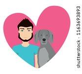 love pet design | Shutterstock .eps vector #1163693893
