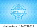 advanced water concept style... | Shutterstock .eps vector #1163718619