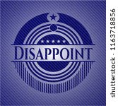 disappoint with jean texture   Shutterstock .eps vector #1163718856