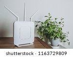 wi fi router devices | Shutterstock . vector #1163729809
