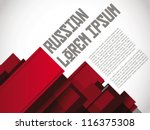 Russian Layout / Print / Poster Template Vector Design / Layout Design / Background / Graphics | Shutterstock vector #116375308