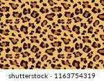 leopard seamless pattern....   Shutterstock .eps vector #1163754319