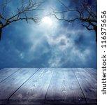 Stock photo  halloween background 116375656