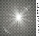 light sources  concert lighting ... | Shutterstock .eps vector #1163765620