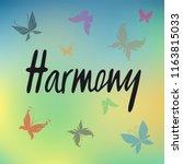 vector illustration of harmony...   Shutterstock .eps vector #1163815033