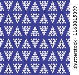 winter seamless texture | Shutterstock .eps vector #1163815399