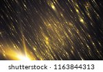 abstract background with gold...   Shutterstock . vector #1163844313
