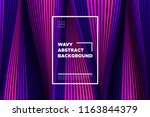 trendy abstract background with ...   Shutterstock .eps vector #1163844379