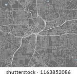 vector map of the city of...   Shutterstock .eps vector #1163852086