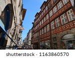 rennes  france   june 27  2018  ... | Shutterstock . vector #1163860570
