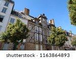rennes  france   june 27  2018  ... | Shutterstock . vector #1163864893