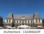 rennes  france   june 27  2018  ... | Shutterstock . vector #1163866639