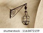 Wrought Iron Lantern With Its...