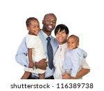 portrait of happy smiling... | Shutterstock . vector #116389738