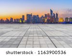 square floor tiles and hangzhou ... | Shutterstock . vector #1163900536