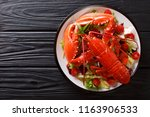 Cooked Sea Lobster With Fresh...