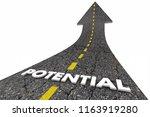 potential reach full possibile... | Shutterstock . vector #1163919280