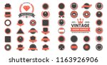 vintage retro vector logo for... | Shutterstock .eps vector #1163926906
