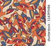 seamless abstract pattern | Shutterstock .eps vector #116395486