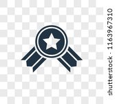 reward vector icon isolated on... | Shutterstock .eps vector #1163967310