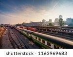 hat yai thailand august 25 ... | Shutterstock . vector #1163969683