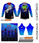 long sleeve motocross jerseys t ...   Shutterstock .eps vector #1163978653