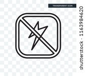 photograph vector icon isolated ... | Shutterstock .eps vector #1163984620