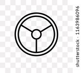 steering vector icon isolated... | Shutterstock .eps vector #1163986096