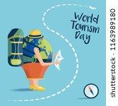vector illustration on the... | Shutterstock .eps vector #1163989180