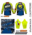 long sleeve motocross jerseys t ...   Shutterstock .eps vector #1163990380