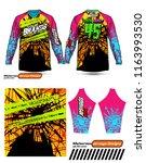 long sleeve motocross jerseys t ...   Shutterstock .eps vector #1163993530