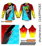 long sleeve motocross jerseys t ...   Shutterstock .eps vector #1163994283