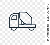 concrete mixer vector icon... | Shutterstock .eps vector #1164007540