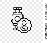 smartwatch vector icon isolated ... | Shutterstock .eps vector #1164013330